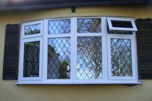 pvc bow window