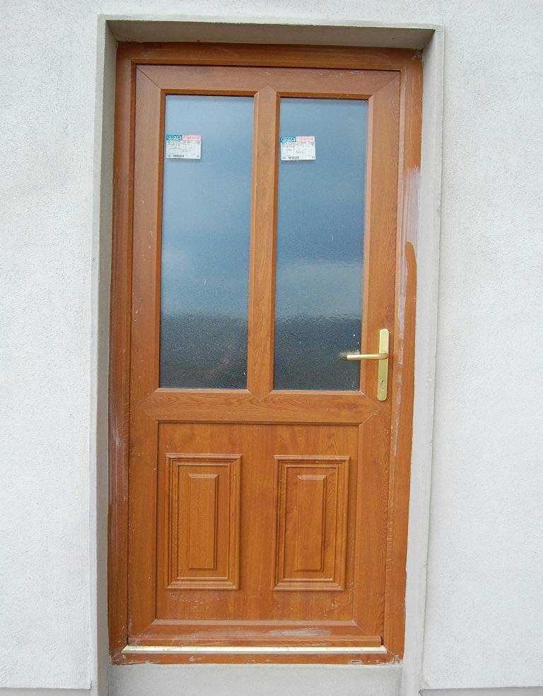 Wood back doors for homes floors doors interior design for Wood back door with window