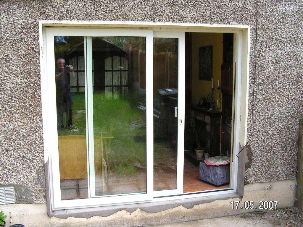 Patio Door Cladding : Sliding patio doors pvc and alu clad