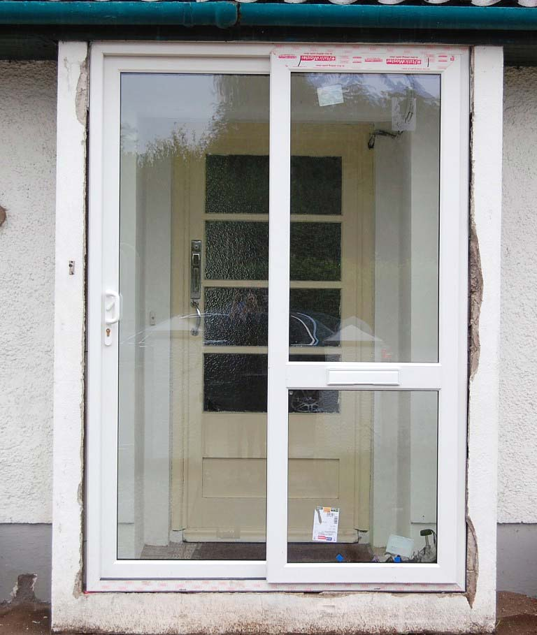 Sliding patio doors pvc and alu clad doors for Outdoor patio doors