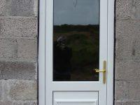 PVC Back Door