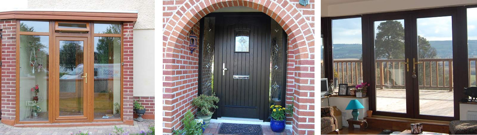 Doors – front doors, French doors, sliding patio doors